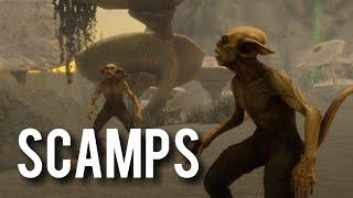 Scamps - New Creature Skyrim Mod