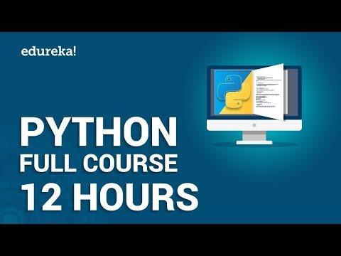 Python Full Course - Learn Python in 12 Hours | Python Tutorial For ...