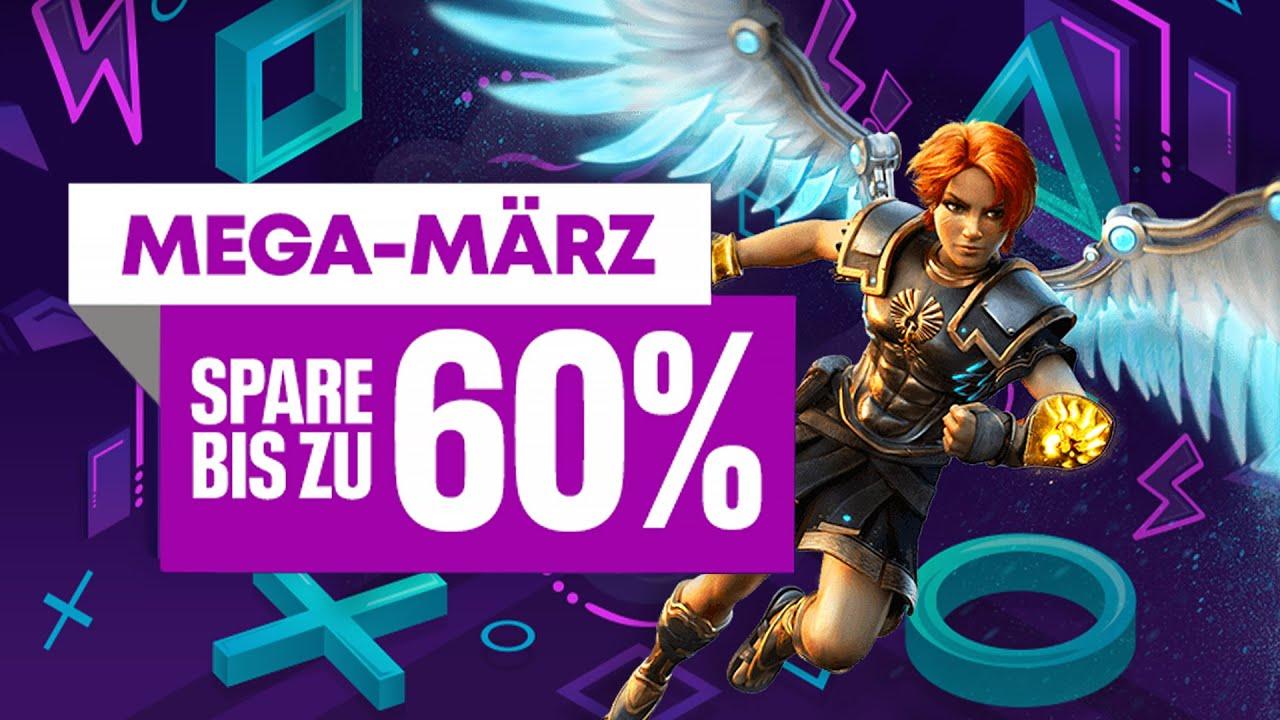 Die Mega-März-Angebote kommen in den PlayStation Store