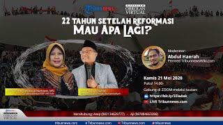 Link Live Streaming Diskusi 22 Tahun Setelah Reformasi Bersama Guru Besar UNS Prof Ismi & Cak Nanto