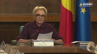 Dăncilă, despre pact: Bunăstarea românilor nu se negociază