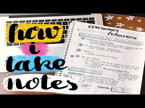 ✏️ TRÂN ĐÃ TAKE NOTES NHƯ THẾ NÈO 😋 How I (Usually) Take Notes 💕 | Diane Le