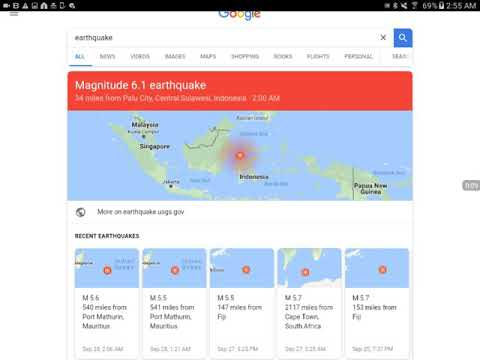 6.1 Earthquake Just Hit Indonesia & Active Weather Patterns In Ocean & Strong Storms
