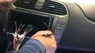 FIAT BRAVO installazione  autoradio EONON G2110F (2/2)