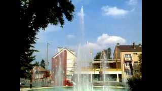 preview picture of video 'Fontanna Sátoraljaújhely  Fountain Sátoraljaújhely'