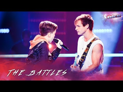 The Battles: Trent Bell v Josh Richards 'There's Nothing Holding Me Back' | The Voice Australia 2018