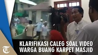 Klarifikasi Caleg Nasdem yang Karpet Pemberiannya Dibuang seusai Ungkit Kekalahan, 'Apa Salah Saya?'