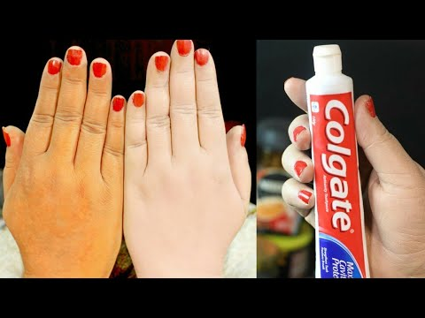 Skin Whitening  Colgate Toothpaste At Home Remedies   Lifestyle Tips