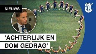 Rutte reageert op racisme binnen het voetbal