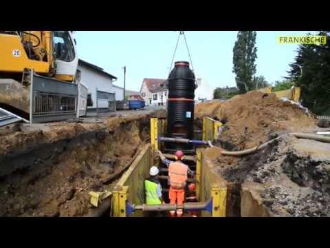 SediPipe XL plus – Einbau Regenwasserbehandlungsanlage