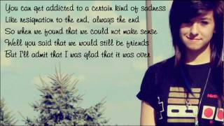 Christina Grimmie - Somebody That I Used To Know / with lyrics on screen