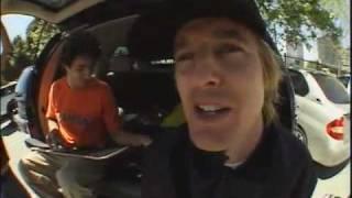 Yeah Right!   Owen Wilson Skateboarding