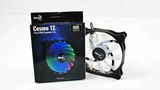 AeroCool Cosmo 12cm Computer Fan   Краткий обзор