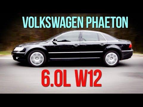 Фото к видео: Volkswagen PHAETON 6.0 W12 - империя наносит ответный удар