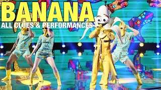 The Masked Singer Banana: All Clues, Performances & Reveal