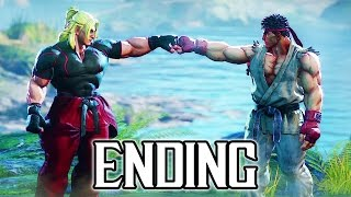 Street Fighter 5 - Story ENDING Walkthrough PART 6 @ 1080p (60fps) HD ✔
