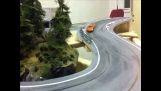 3rd Wood Slot Car Track: Circuit Gilles Villeneuve TESTING 1/43
