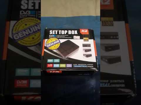 DVB-T2 K2 myFreeview Digital Decoder open box