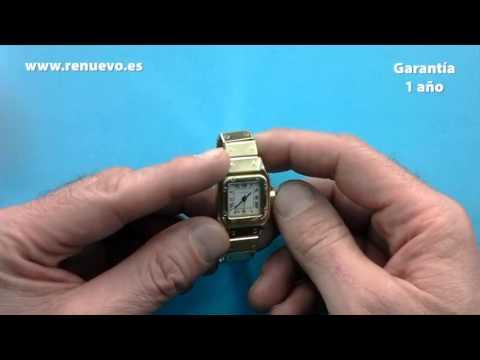 Reloj CARTIER de oro de 18 kilates de segunda mano E239599