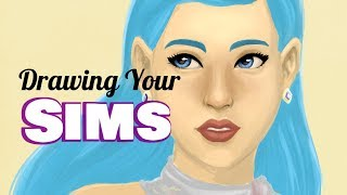 Drawing Your Sims