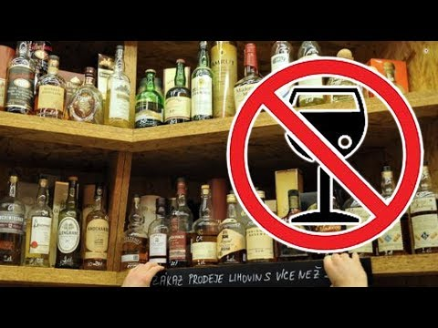 Plánuje se v ČR zákaz alkoholu?