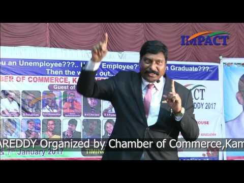 Stage Fear|Gampa Nageswararao|TELUGU IMPACT Kamareddy 2017