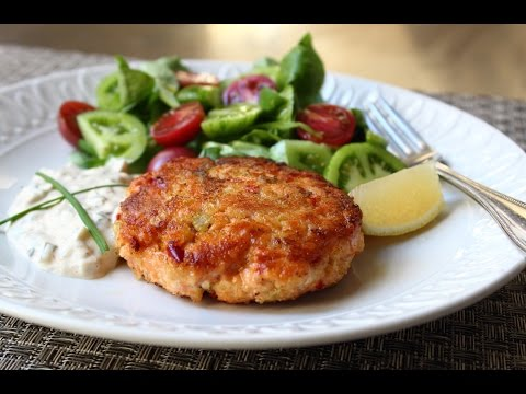 Fresh Salmon Cakes Recipe – Salmon Patties with Fresh Wild Salmon