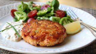 Fresh Salmon Cakes Recipe – Salmon Patties with Fresh Wild Salmon