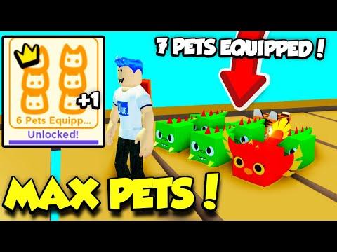 I Unlocked MAX PETS EQUPPED In Pet Simulator 2 And Got All Unlockables! (Roblox)