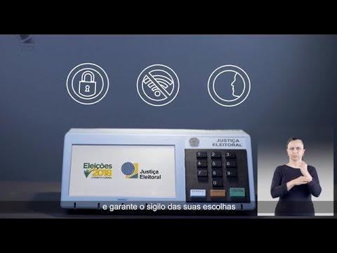 '.TSE lança campanha sobre segurança do sistema eletrônico de votação.'