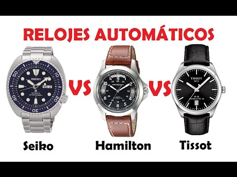 Seiko VS Hamilton VS Tissot - RELOJES AUTOMÁTICOS INTERESANTES - 500€