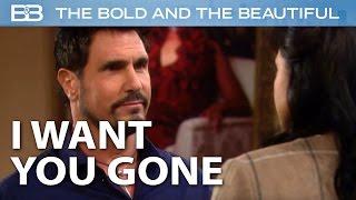 The Bold And The Beautiful / Bill THREATENS Maya