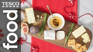 How to create a perfectly paired Christmas cheeseboard