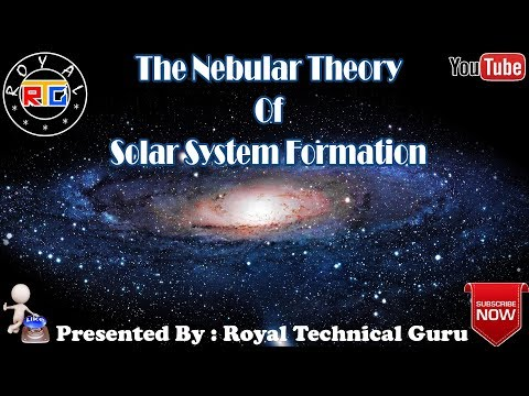 The Nebular Theory Of Solar System Formation