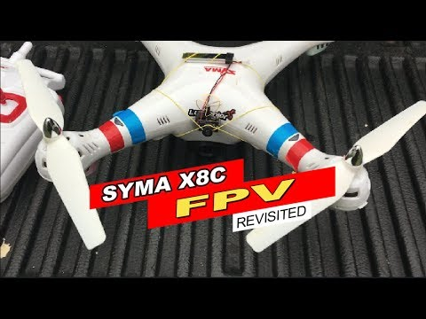 Syma X8C FPV REVISITED! Feat.The TX03 (BANGGOOD)