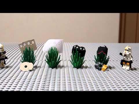 LEGO Star Wars Tutorial - Kamas und Pauldrone aus Stoff