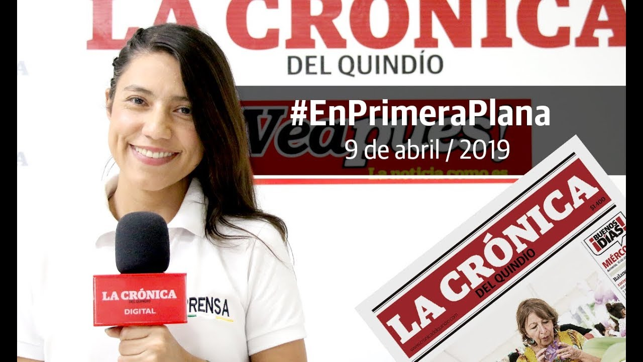 En Primera Plana: lo que será noticia este miércoles 10 de abril