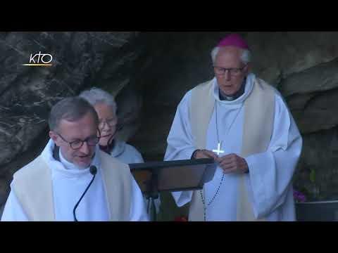 Chapelet du 2 novembre 2020 à Lourdes