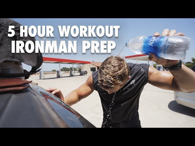 A 5-Hour Ironman Prep Training Session
