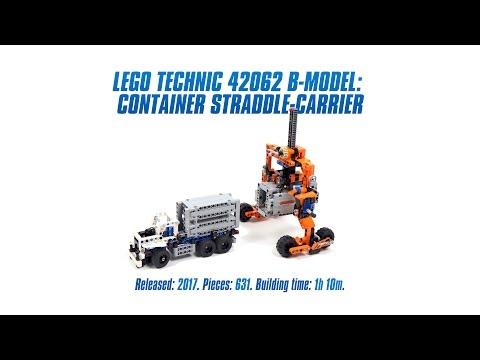 Vidéo LEGO Technic 42062 : Le transport du conteneur