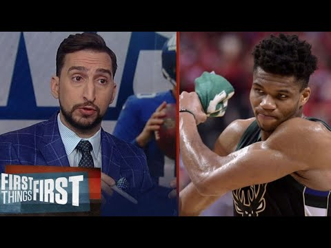 Nick Wright react to Giannis, Bucks lose to Nets 119-116; Giannis: 16 Pts in 15 Min