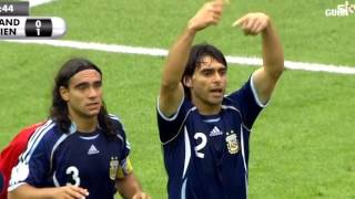 Argentina vs Germany 1 1 pen 2 4   World Cup 2006   Full Highlights HD