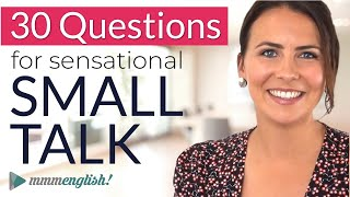 How to make GREAT Small Talk | English Conversation Practice