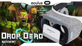 BORA JOGAR► Drop Dead BOBO Z5 VR com Gear VR controle Gameplay • Realidade Virtual 2018