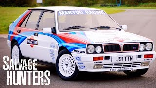 Gambar cover Lancia Delta Exterior Goes From Drab To Fab | Salvage Hunters: Classic Cars