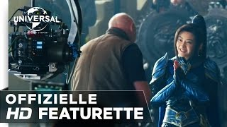 "THE GREAT WALL - Featurette ""Shooting in China"" german/deutsch HD"