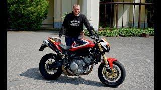 Moto Morini Corsaro Veloce - 140 italskejch plnokrevníků bez elektroniky - Jindřich Fáborský