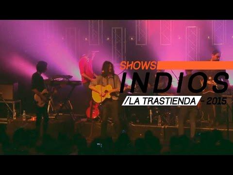 Indios video Show completo - La Trastienda Club 2015