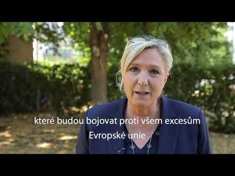 Tomio Okamura: Zdravice Marine Le Penové delegátům konference SPD.