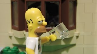 """Homer's Day"" Lego Simpsons Animation"